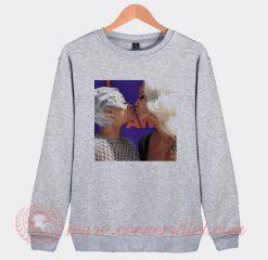 Amber Rose Kiss Blac Chyna Sweatshirt