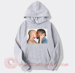 Amber Rose Kiss Kanye West Hoodie