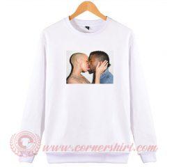 Amber Rose Kiss Kanye West Sweatshirt