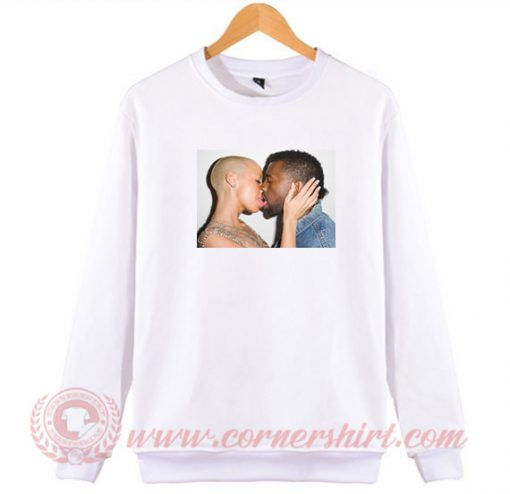 Amber Rose Kiss Kanye West Sweatshirt