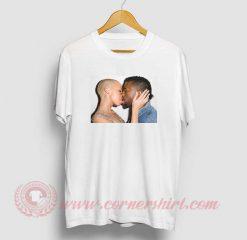 Amber Rose Kiss Kanye West T Shirt