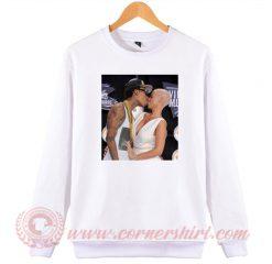 Amber Rose Kiss Wiz Khalifa Sweatshirt