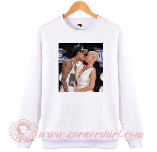 Amber Rose Kiss Wiz Khalifa Sweatshirt