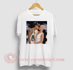 Amber Rose Kiss Wiz Khalifa T Shirt