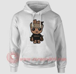 Baby Groot Monogram Custom Hoodie