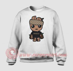 Baby Groot Monogram Custom Sweatshirt