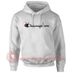 Big Chungus X Champion Parody Hoodie
