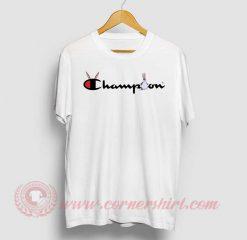 Big Chungus X Champion Parody T Shirt
