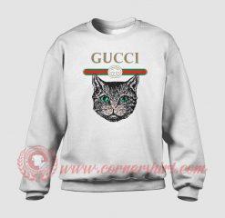 Cat Vintage Belt Custom Sweatshirt
