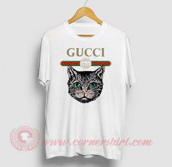 Cat Vintage Belt Custom T Shirt