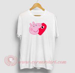 Comme Des Garcons X Peppa Pig T Shirt