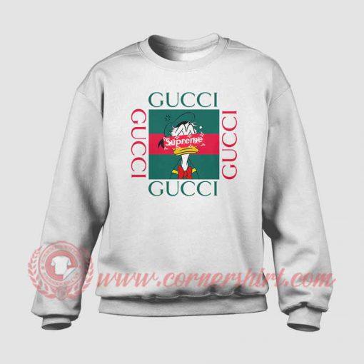 Donald Duck X Supreme Custom Sweatshirt