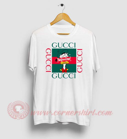 Donald Duck X Supreme Custom T Shirt