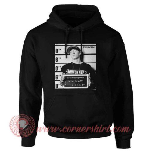 Eminem Mughshot Black Hoodie