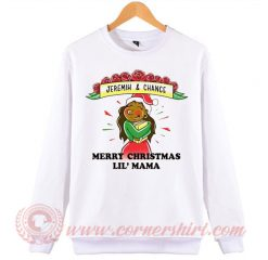Jeremih And Chance Marry Christmas Lil Mama Sweatshirt