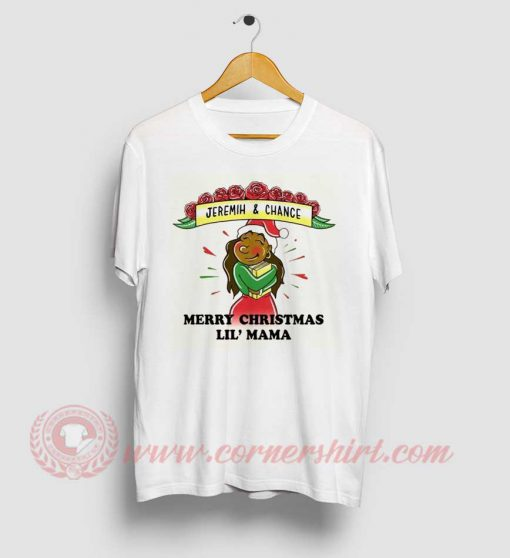 Jeremih And Chance Marry Christmas Lil Mama T Shirt