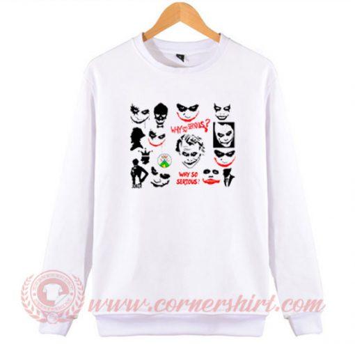 Custom Joker Svg Bundle Sweatshirt