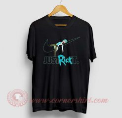 Just Rick It Custom Design T Shirt