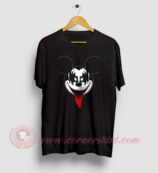 Kiss Mickey Mouse T Shirt