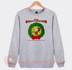 Merry Snoopy's Christmas The Royal Guardsmen Sweatshirt