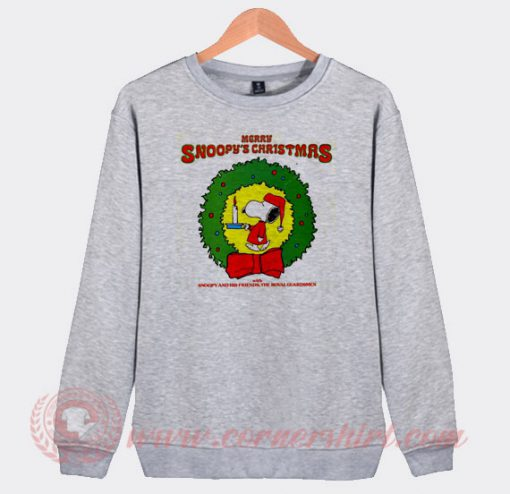 Merry Snoopy's Christmas The Royal Guardsmen Sweatshirt