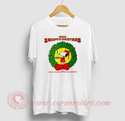Merry Snoopy's Christmas The Royal Guardsmen T Shirt