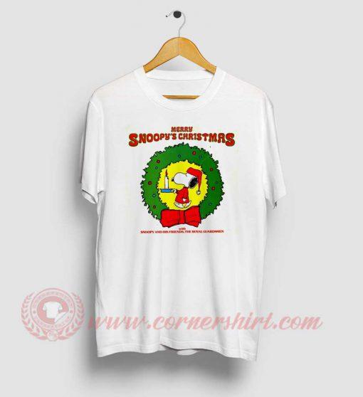 Merry Snoopy's Christmas The Royal Guardsmen T Shirt