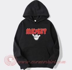Mickey Mouse ACDC Style Hoodie