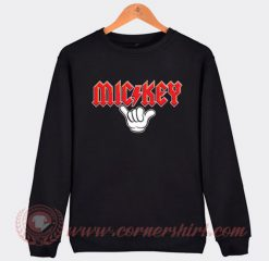Mickey Mouse ACDC Style Sweatshirt