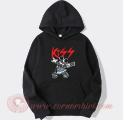 Mickey Mouse Kiss Style Hoodie