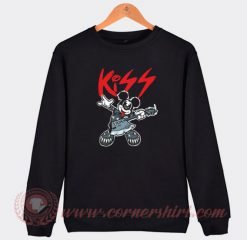 Mickey Mouse Kiss Style Sweatshirt