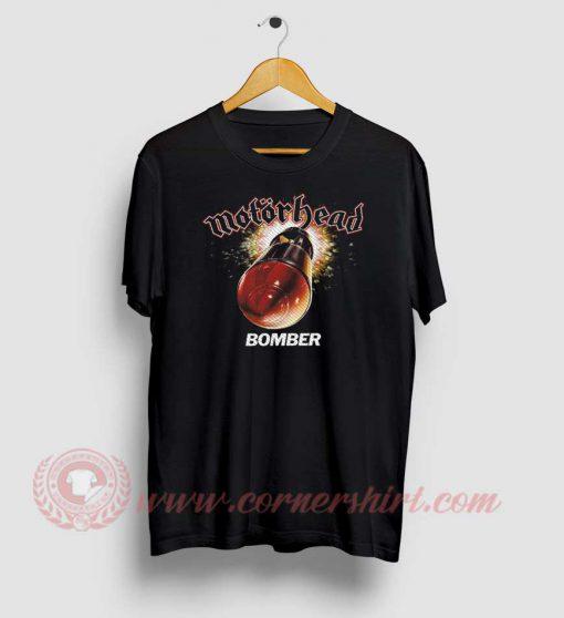 Motorhead Bomber Custom Design T Shirt