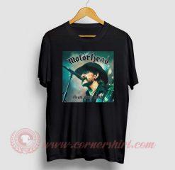 Motorhead Clean Your Clock Custom T Shirt
