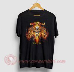 Motorhead Inferno Custom Design T Shirt