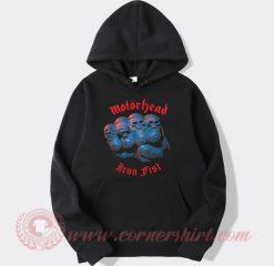 Motorhead Iron Fist Custom Design Hoodie