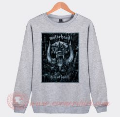 Motorhead Kiss Of Death Custom Design Sweatshirt