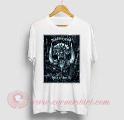 Motorhead Kiss Of Death Custom Design T Shirt