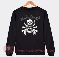 Motorhead March Or Die Custom Sweatshirt