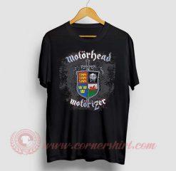 Motorhead Motorizer Custom Design T Shirt