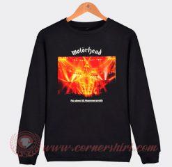 Motorhead No Sleep 'Till Hammersmith Sweatshirt