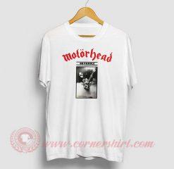 Motorhead On Parole Custom Design T Shirt
