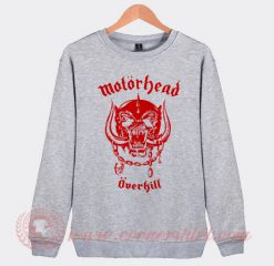 Motorhead Overkill Custom Design Sweatshirt