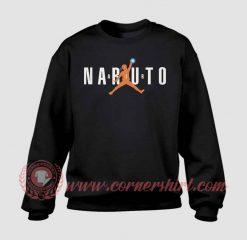 Naruto Air Jordan Custom Design Sweatshirt