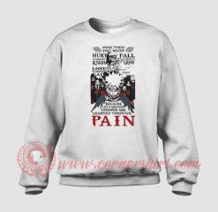 Naruto Pain Custom Design Sweatshirt