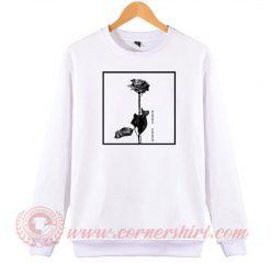 Pink Dead Rose From Blackbear Sweatshirt