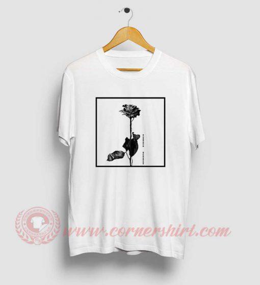 Pink Dead Rose From Blackbear T Shirt