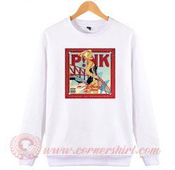 Pink Funhouse Tour Sweatshirt