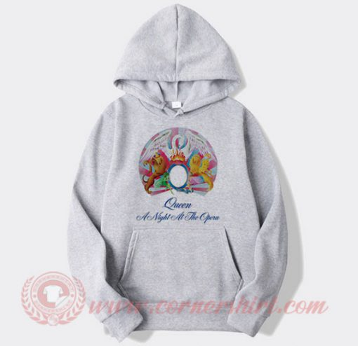 Queen A Night At The Opera Album Hoodie
