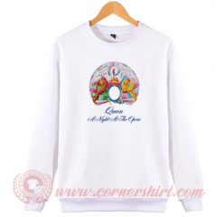 Queen A Night At The Opera Album Sweatshirt