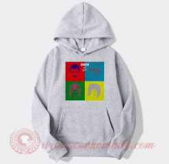 Queen Hot Space Album Hoodie